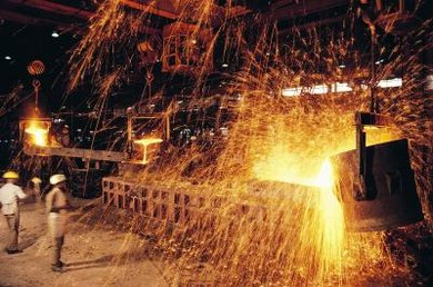 Worldwide, more than 1.2 billion metric tons (1.3 billion tons) of steel is manufactured each year.