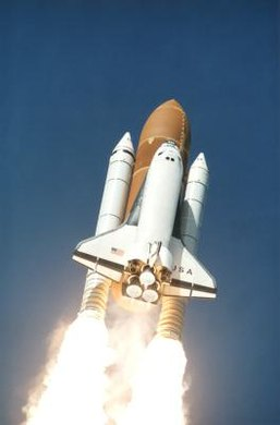 The space shuttle took just 8.5 minutes to get into space.