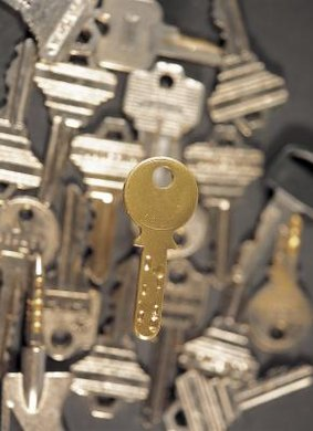 Unlock your future with a degree in locksmithing.
