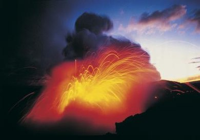 Volcanoes are an important part of Earth's rock cycle.