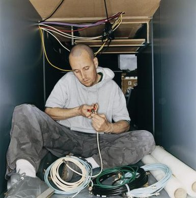 Electricians receive their qualifications by completing an apprenticeship.