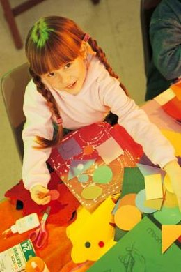 Encourage students to play with different shapes to see how they work together.