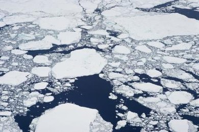 Increased melting of sea ice indicates a rise in greenhouse gas emissions.