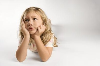 Even young children can be worried and anxious from time to time.