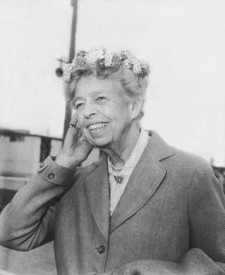 Incorporate Eleanor Roosevelt into first-grade social studies lessons.
