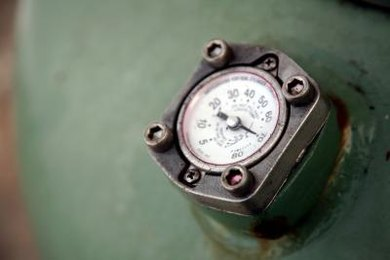 Changing gas pressure can result in changes in volume or temperature.