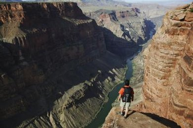 Water and wind eroded the Grand Canyon.