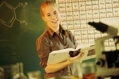 To prepare for optometry school, take several science courses, including chemistry.
