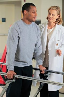 Physical therapists may choose to specialize in areas such as orthopedics and sports physical therapy.