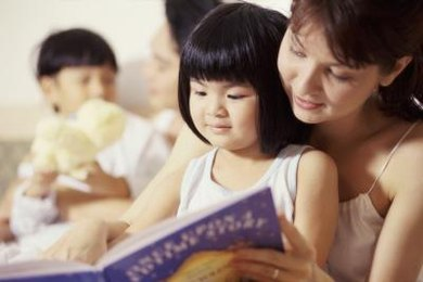 Reading and talking with young children increases exposure to rich language skills.