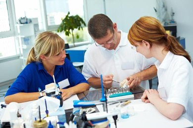 Dental school prepares dental hygienists for careers in private practices and public clinics.