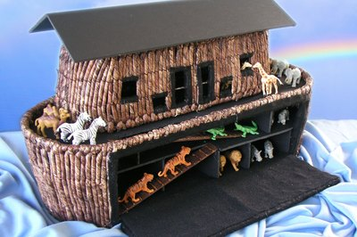 Building a Noah's ark can be fun.