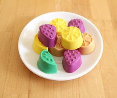 Kids can choose the soap's color, shape, and fragrance.