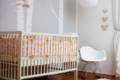 Beautiful mid-century pieces will enhance any modern nursery.
