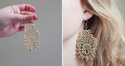 These pretty earrings are perfect for every day wear or for a special occasion.