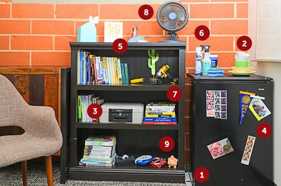 Dorms are where college life happens. Don't forget these essentials!