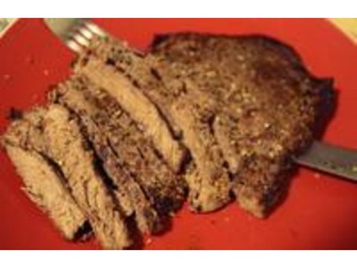 How to Broil Marinated Flank Steak... Also Known As London Broil