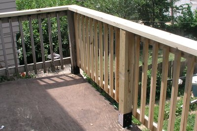 Stand back and enjoy your new railing!