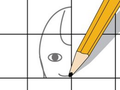 How to Enlarge a Drawing Using a Grid