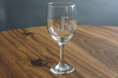 Enjoy your etched glass!