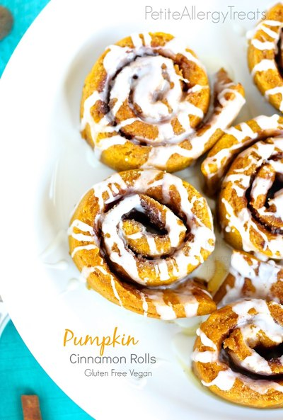 Put pumpkin in your cinnamon rolls!