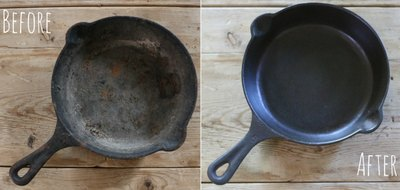 A seasoned cast iron skillet is a must-have for every kitchen.