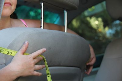 Measure Car Seat