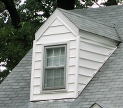 Dormers present a siding challenge.