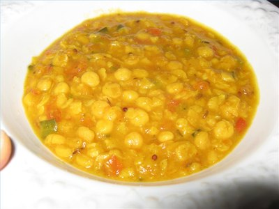 Chana dal ready to serve