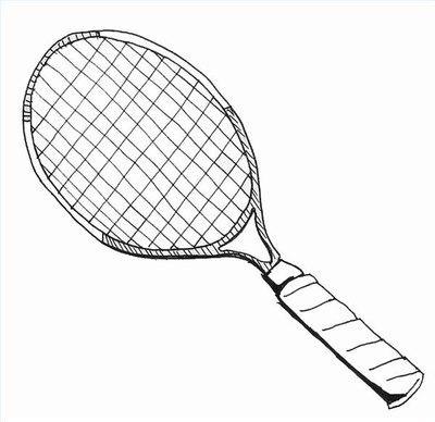 Draw a Tennis Racquet