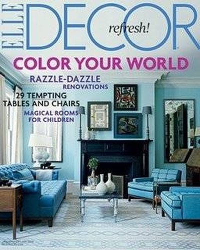 Home decor magazines.