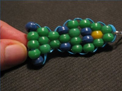 Make a Beaded Fish Keychain