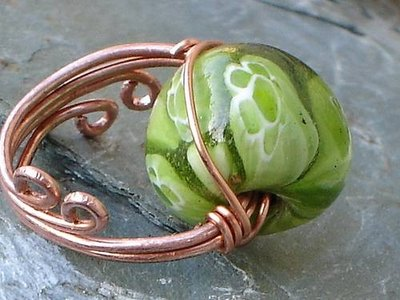 Example of wire wrapping