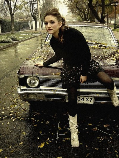 A teen girl's car can be considered a fashion accessory.