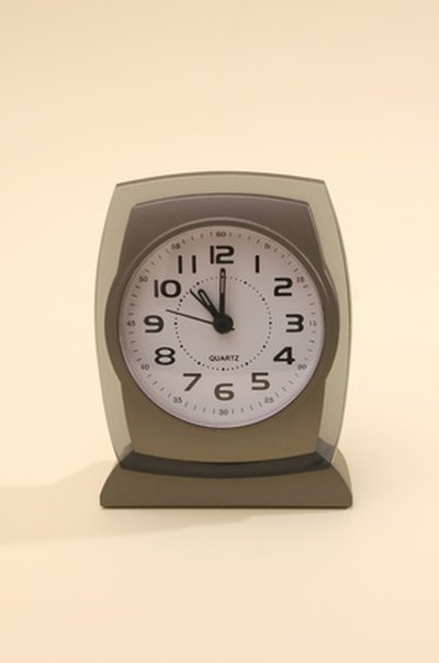 Modern alarm clocks are often electric clocks.