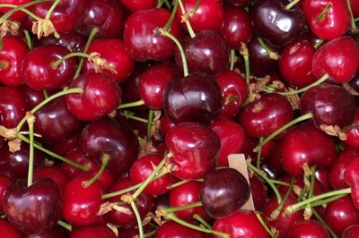 Cherries can be sweet or sour.