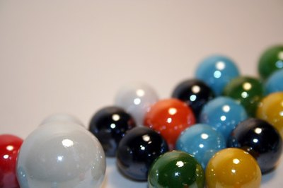 Marbles is a traditional Indian game.