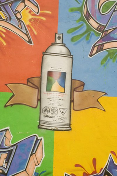 Aerosol cans contain carbon dioxide.
