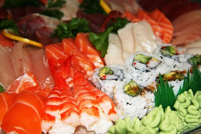 Sushi is just one of the many foods that are most popular in Japan.