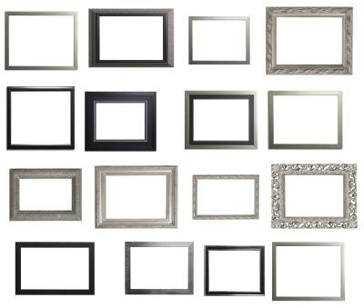 Accent your color scheme with silver frames