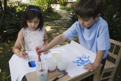 Kids can make self portraits inspired by Picasso.