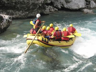 an adventurous birthday boy may love to go whitewater rafting