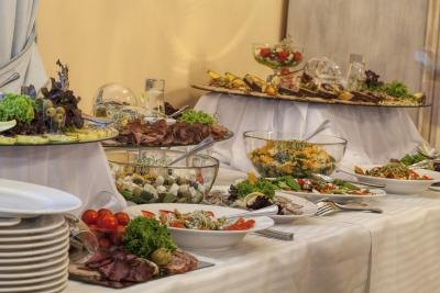 Clarion's New Year's Eve dinner buffet