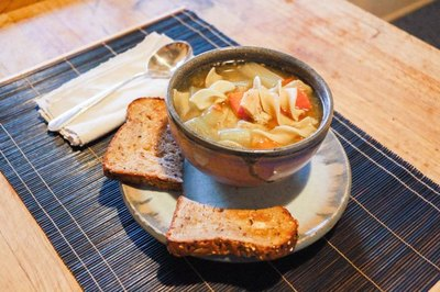 How to Make Chicken Noodle Soup with Egg Noodles