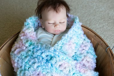 Easy Baby Blankets To Crochet With Pictures Ehow