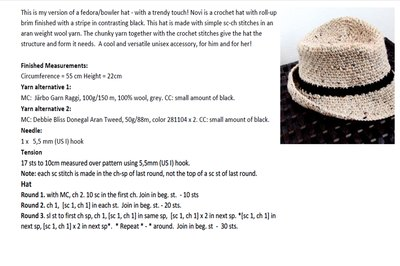 Patterns to Make Fedora Hats (with Pictures) | eHow