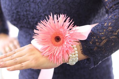 Prom wrist corsages make a bold statement.