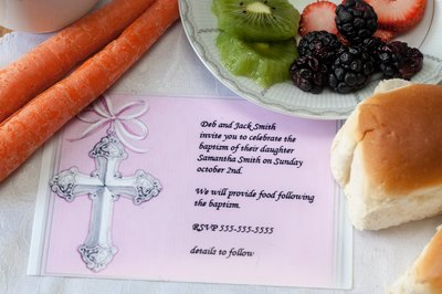 baptism party menu ideas with pictures ehow