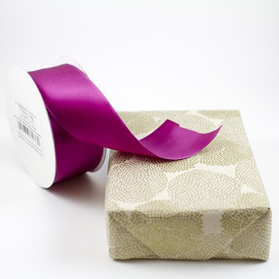 Choose the ribbon based on the size of your gift.