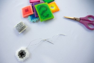Tie some thread to turn these into ornaments.